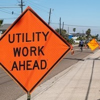 Traffic Control Signs, Construction