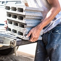 Weeklysafety.com exclusive safety meeting topic that provides safety tips and techniques for construction workers to prevent potential back injuries.