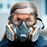 Weeklysafety.com exclusive safety meeting topic for the construction industry that covers the respiratory protection program areas of inspection, fit testing, user seal checks, storage, cleaning and disinfecting.