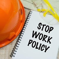 Weeklysafety.com exclusive safety meeting topic that reviews the concept of Stop Work Authority, provides an overview of a standard SWA procedure, and covers what OSHA has to say on the right to refuse dangerous work.