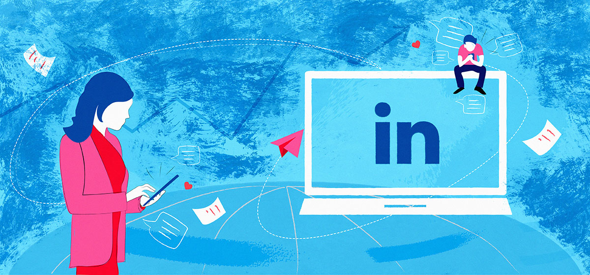 How to send a LinkedIn message without being spammy