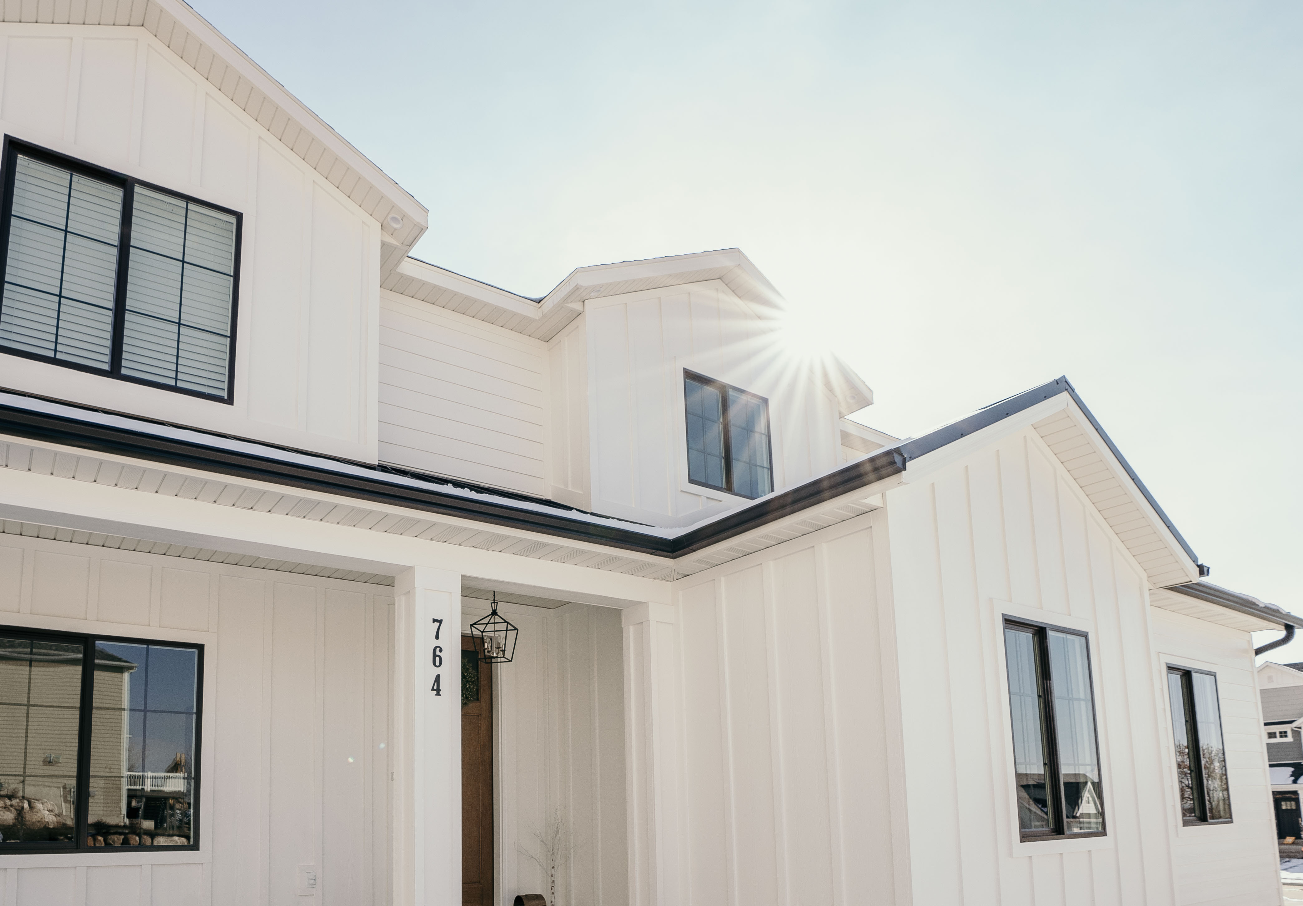 Beautiful Colonial home built in Utah Valley by Utah home builder Forum Builders.