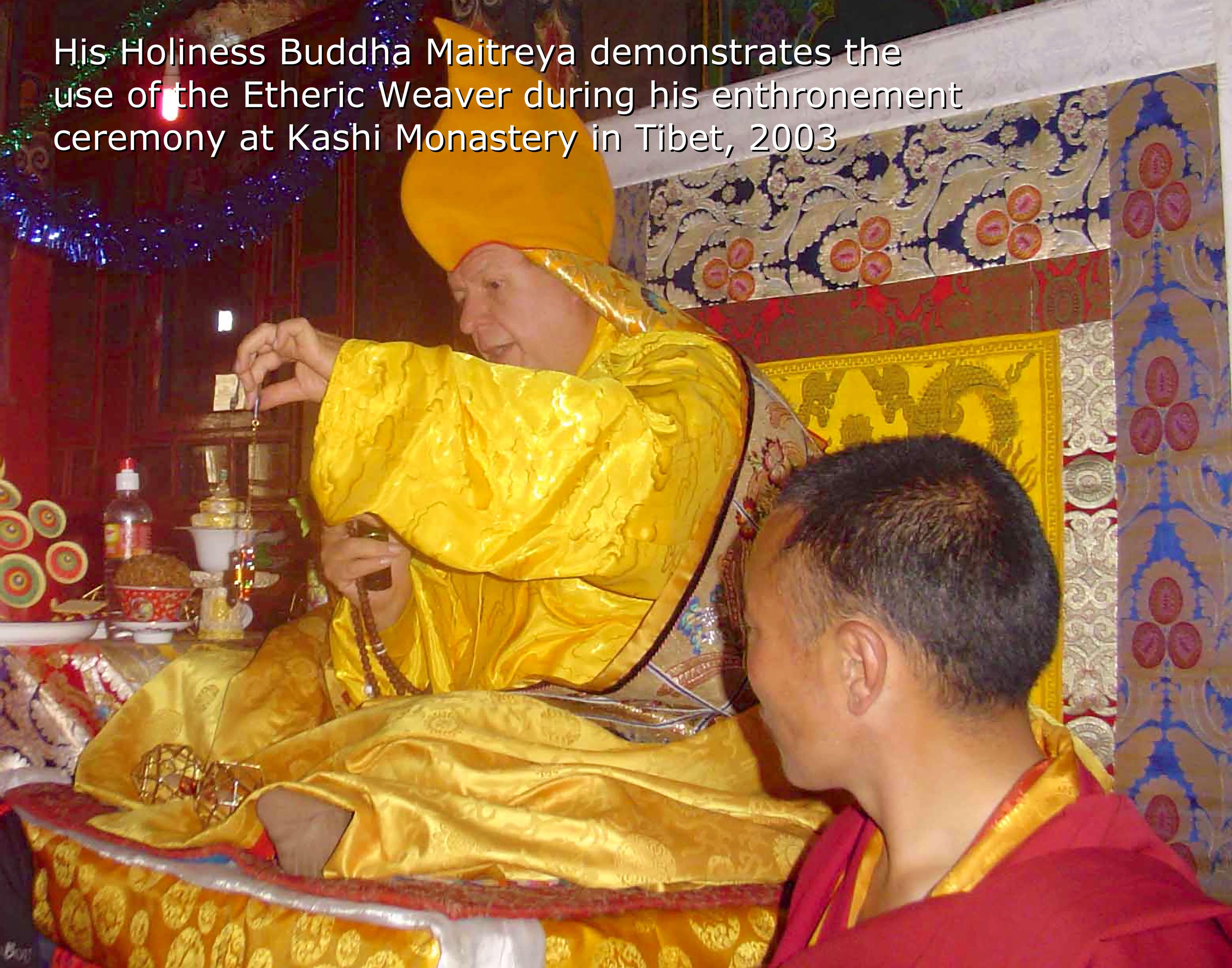 His Holiness Tulku Buddha Maitreya