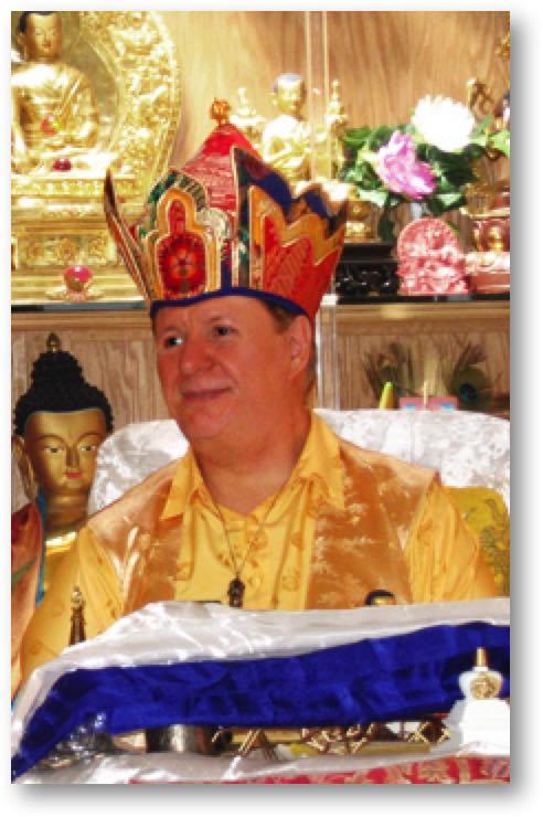 Lama Dorje, the Buddha Maitreya