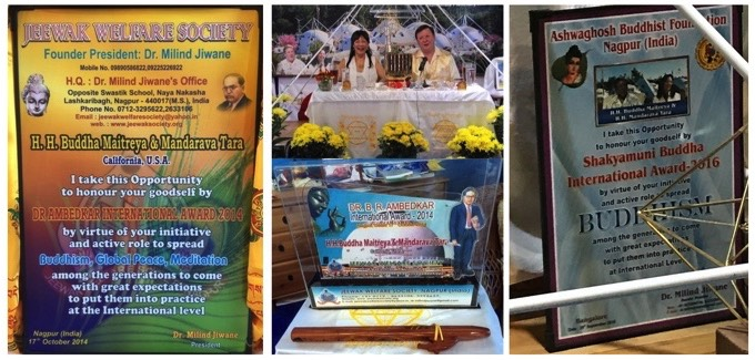 Plaques Awards Given by the Jeewak Welfare Society of India