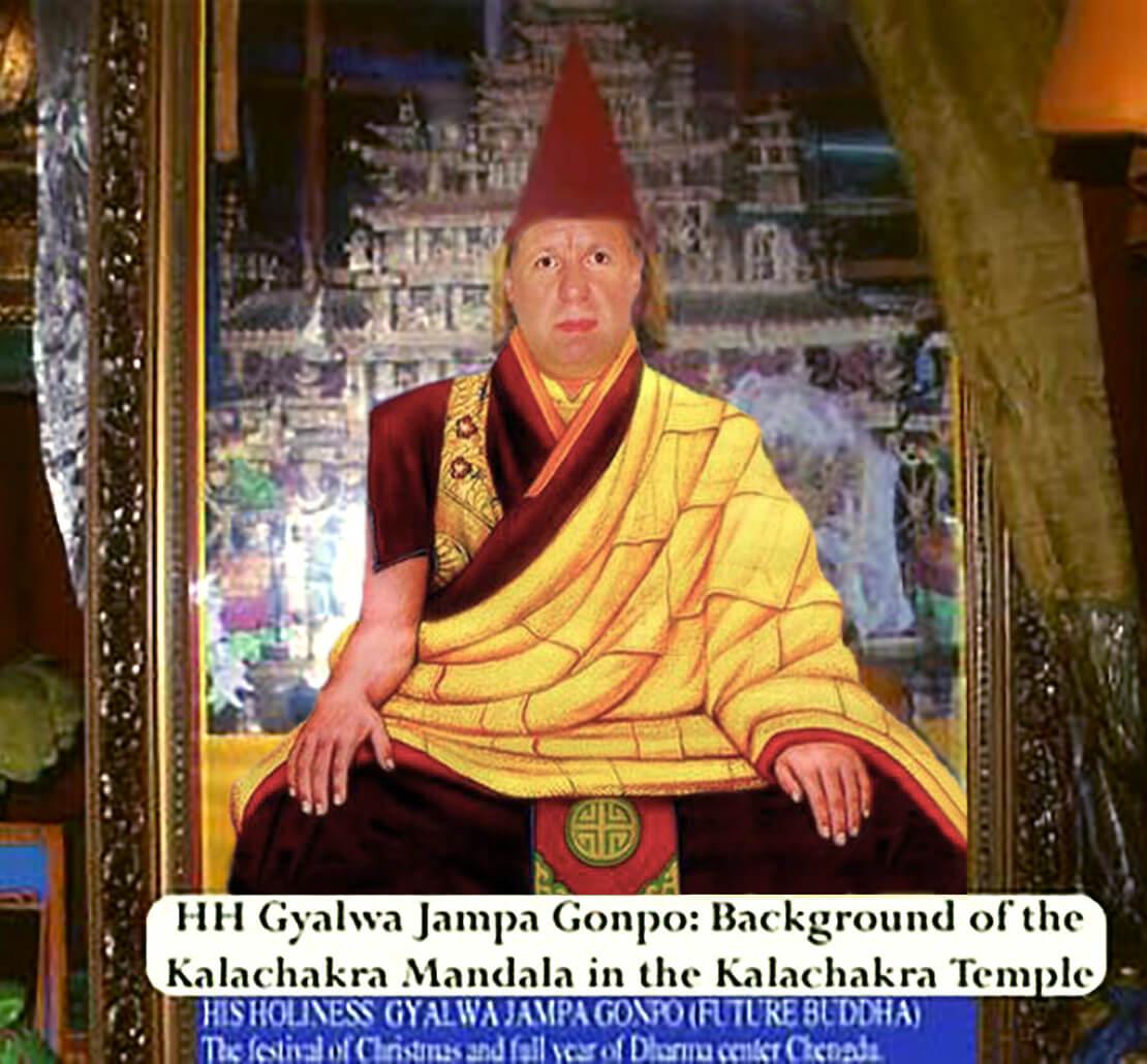 HH Gyalwa Jampa Gonpo - Tulku Buddha Maitreya the Reincarnation of Christ - Kalachakra Temple