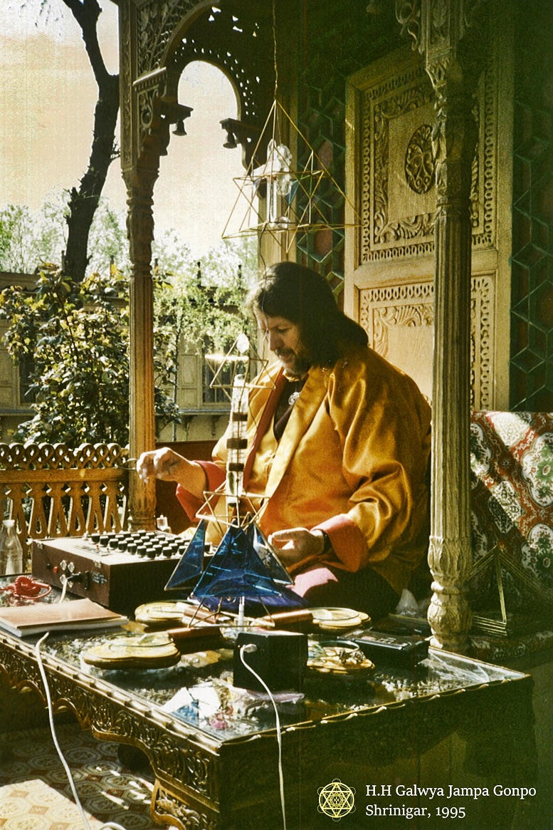 Jesus Christ, the Buddha Maitreya, providing energetic medicine via radionics