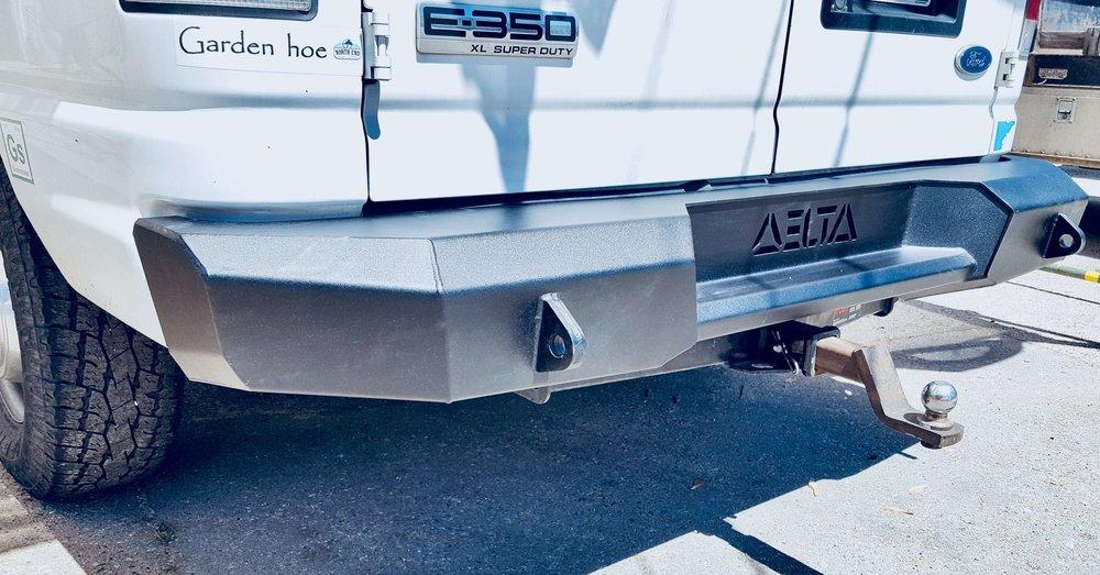 E350 Rear Bumper