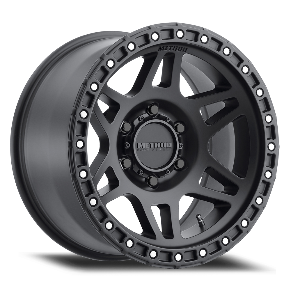 "17""x9"" Method Race Wheels 312, Matte Black"