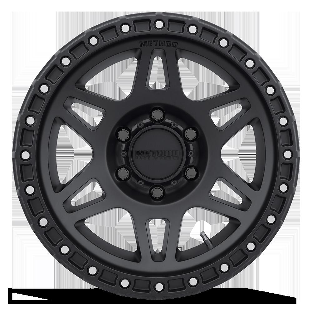 method 312 race wheel in black front