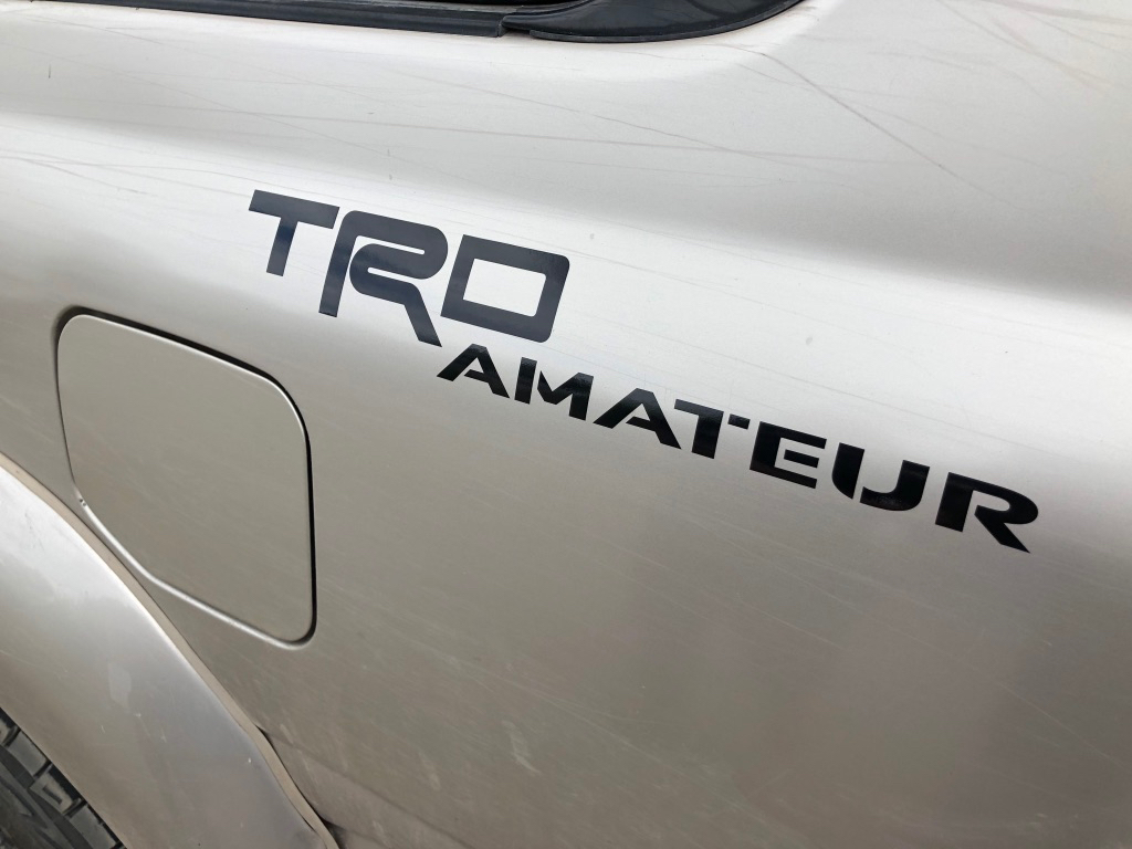 TRD Amatuer Sticker