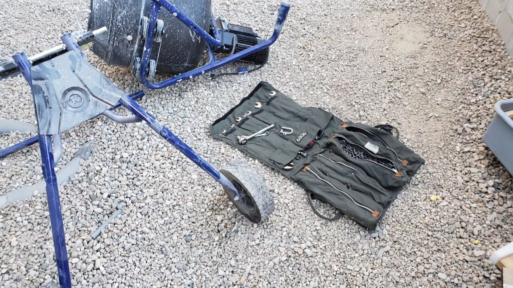 delta roll-y tool carrier rolled up