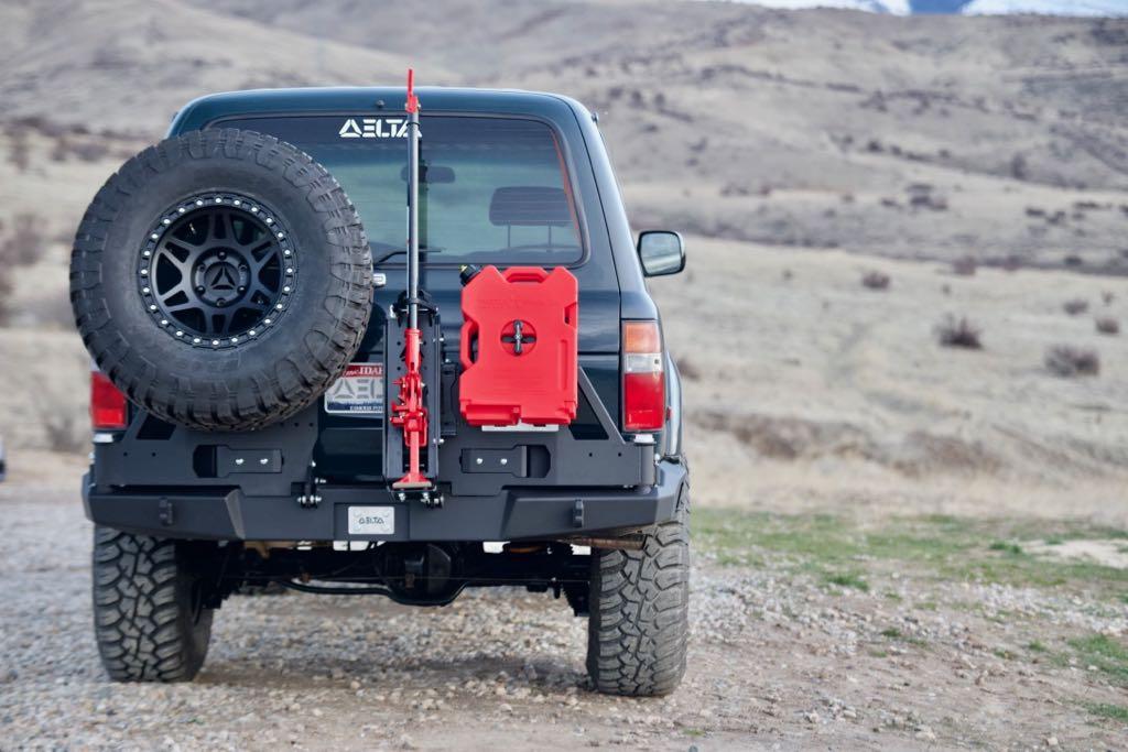 Rotopax mount, rear bumper