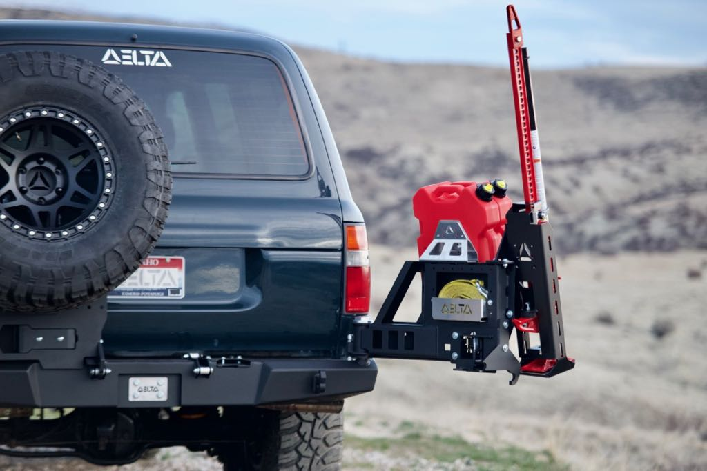 DeltaVS TensionLoc, a secure Hi-Lift mount