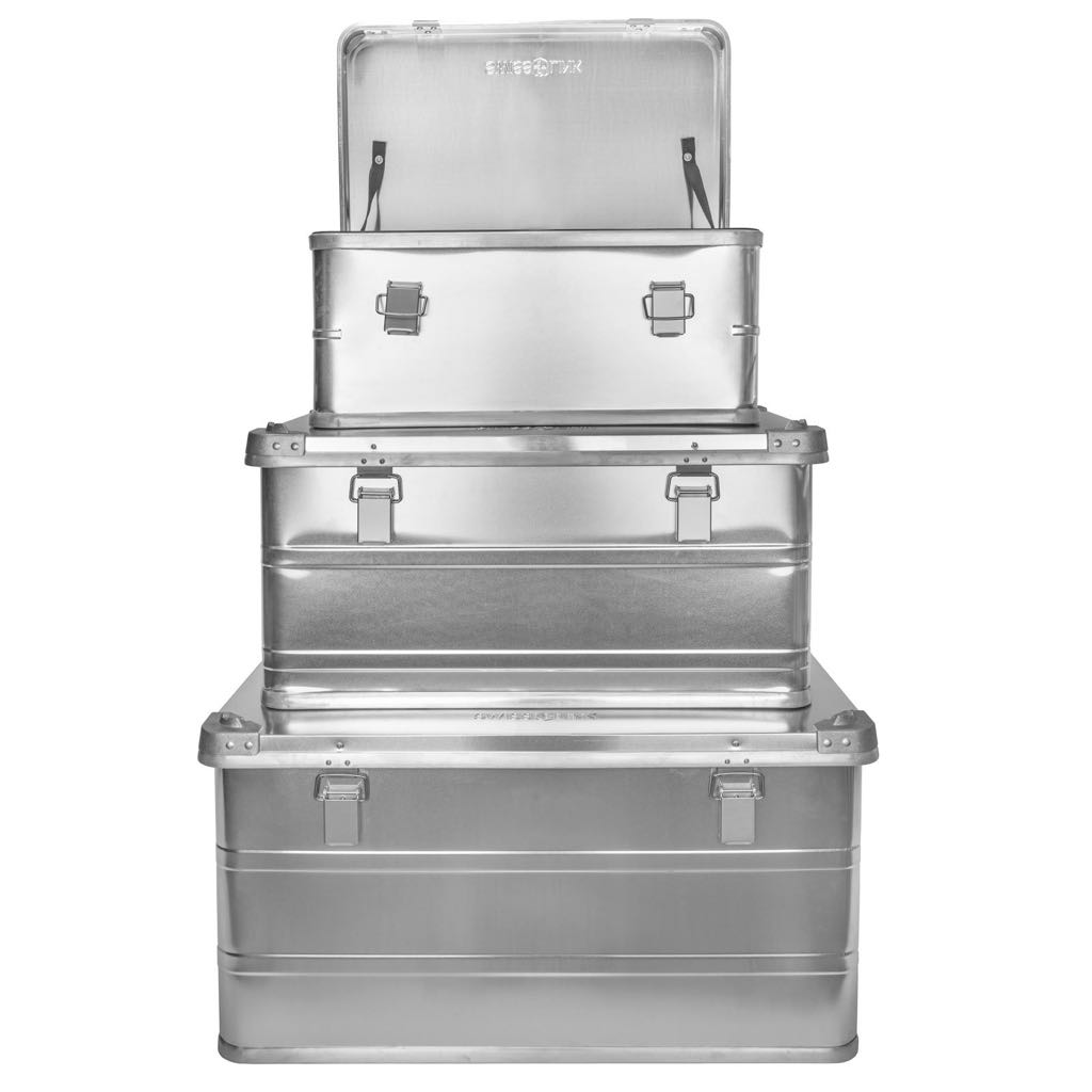 Swiss Link Aluminum Storage Boxes