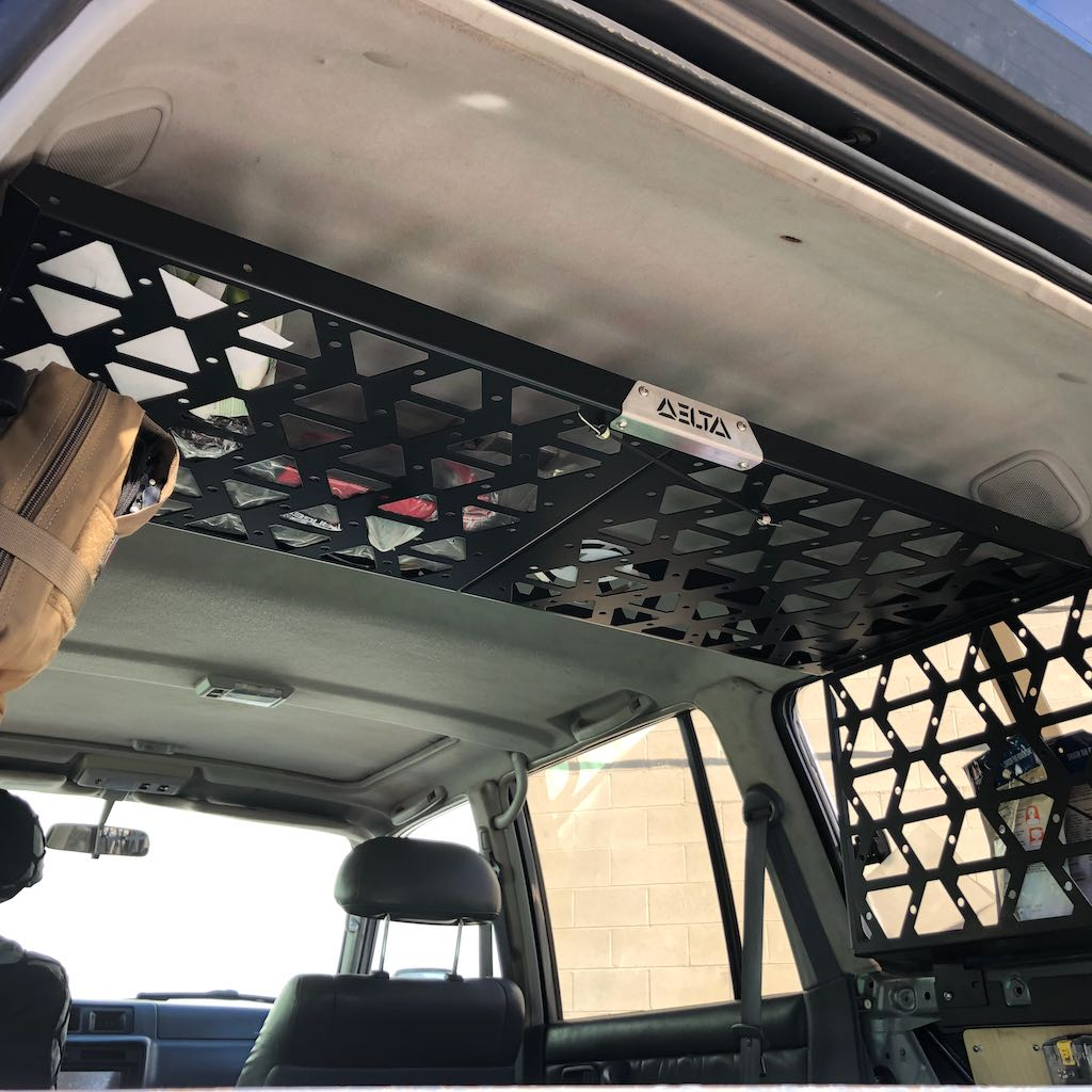 FJ/FZJ80/LX450 Ceiling Storage Rack