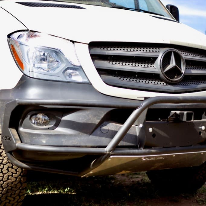 Sprinter Front Hitch Bumper Add-On