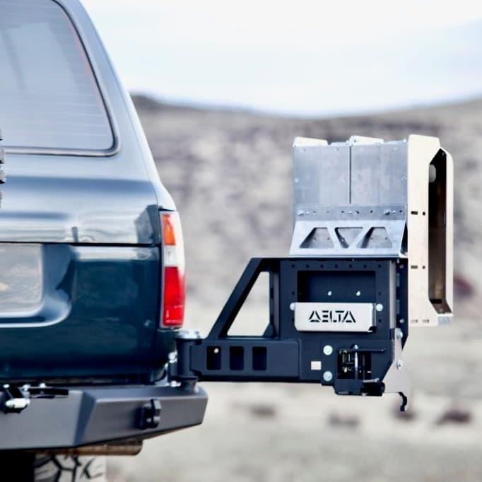 80 Series Rear Bumper Accessories
