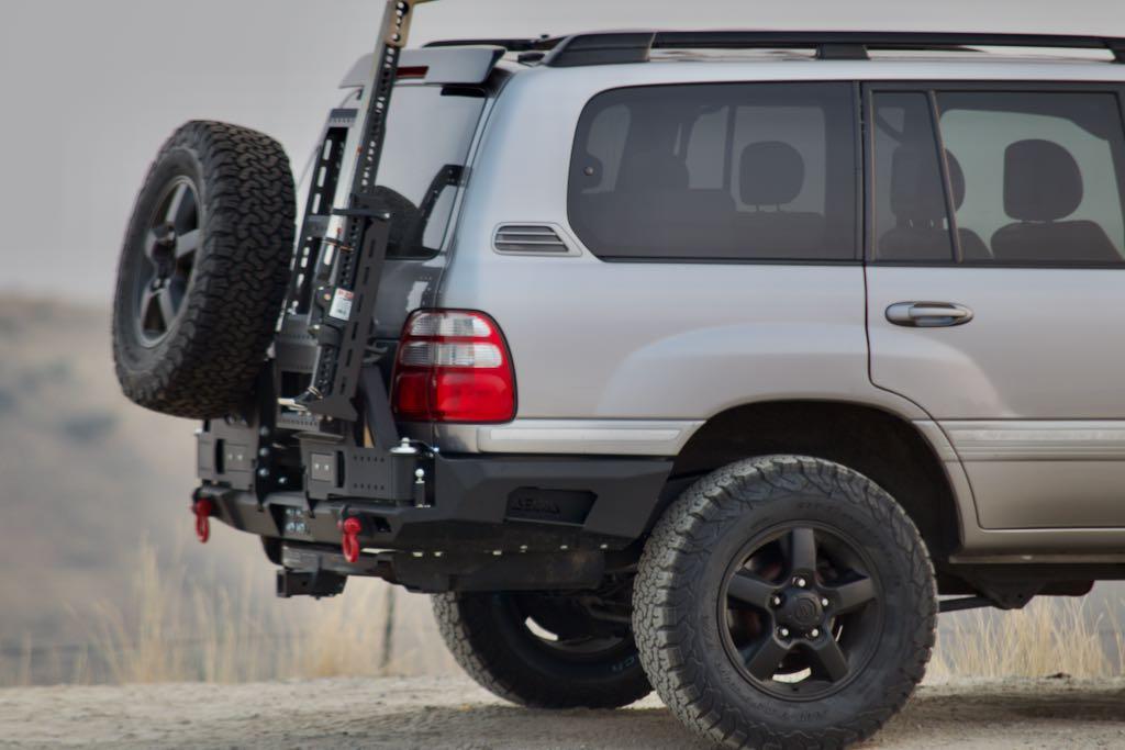 DeltaVS Universal Swingarm, Rear Bumper