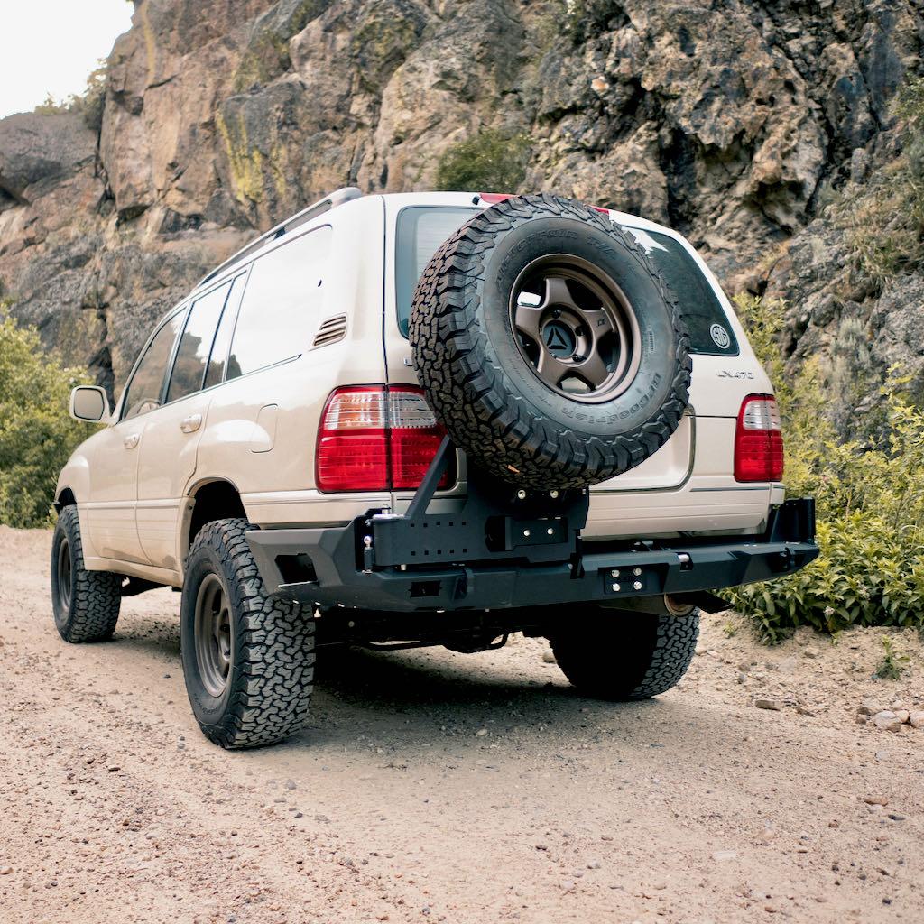 100 Series Modular Rear Bumper