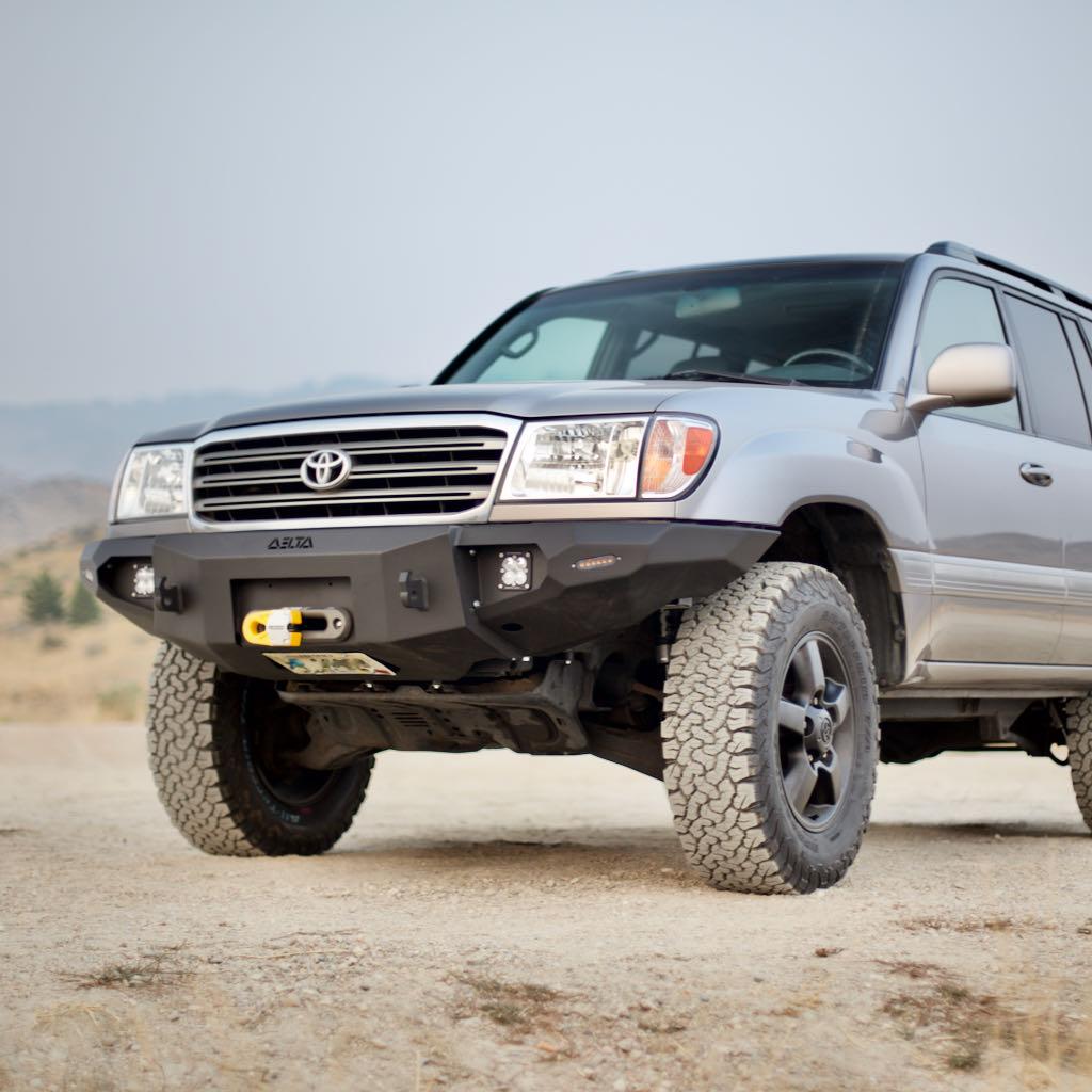 100 Series Front Bumper