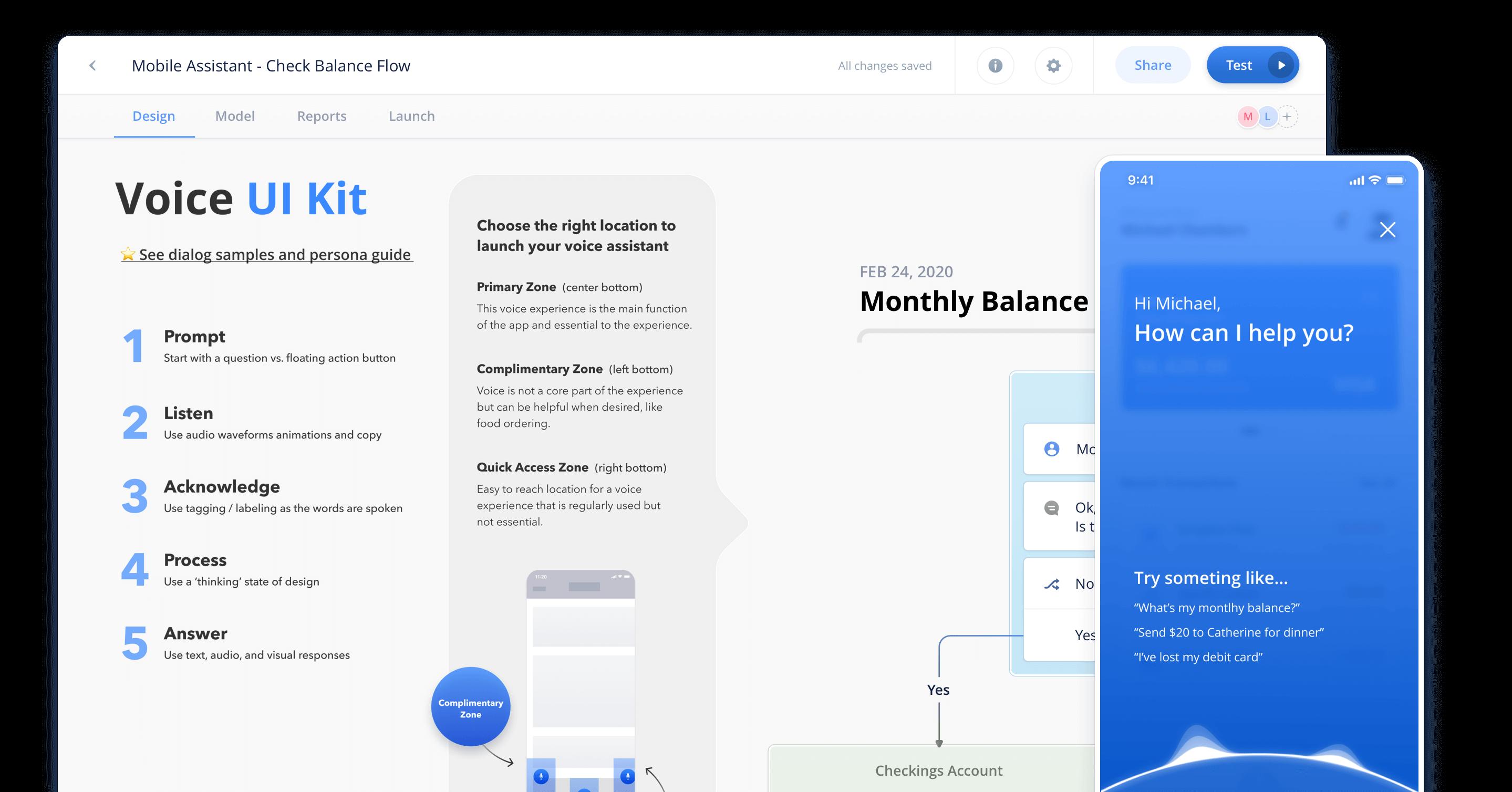 Voiceflow Chat Builder