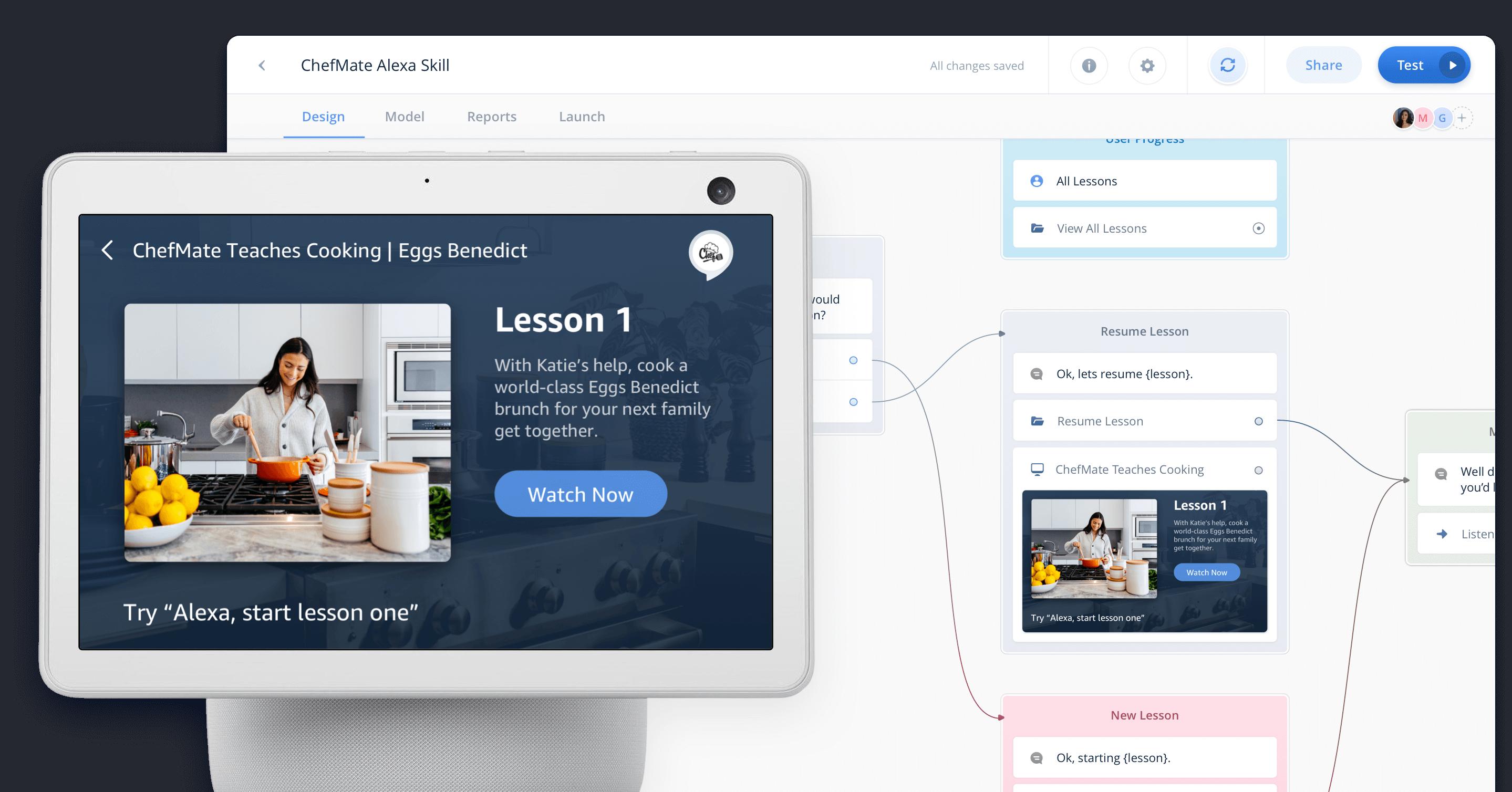 Voiceflow's Alexa Builder