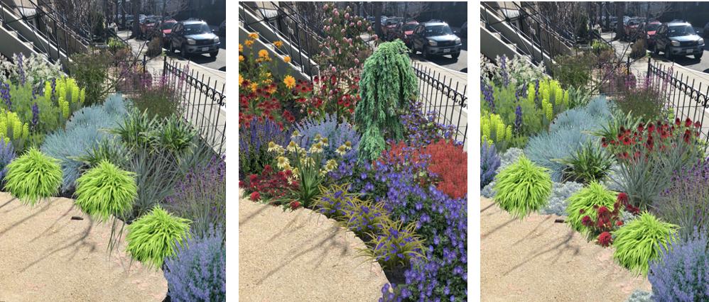 iScape city garden landscape makeover