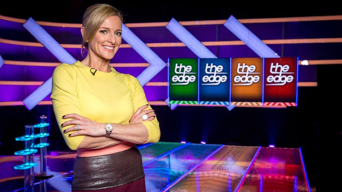 Gabby Logan hosts The Edge on the BBC