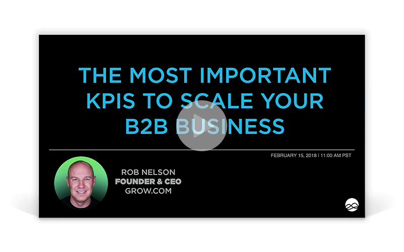 The Most Important KPIs to Scale Your B2B Business