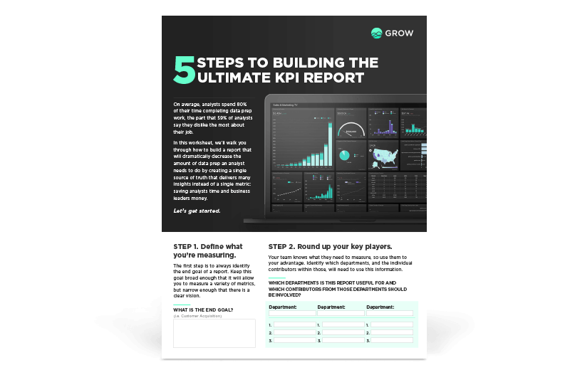 5 Steps to Building the Ultimate KPI Report