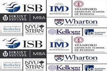 B-school logos