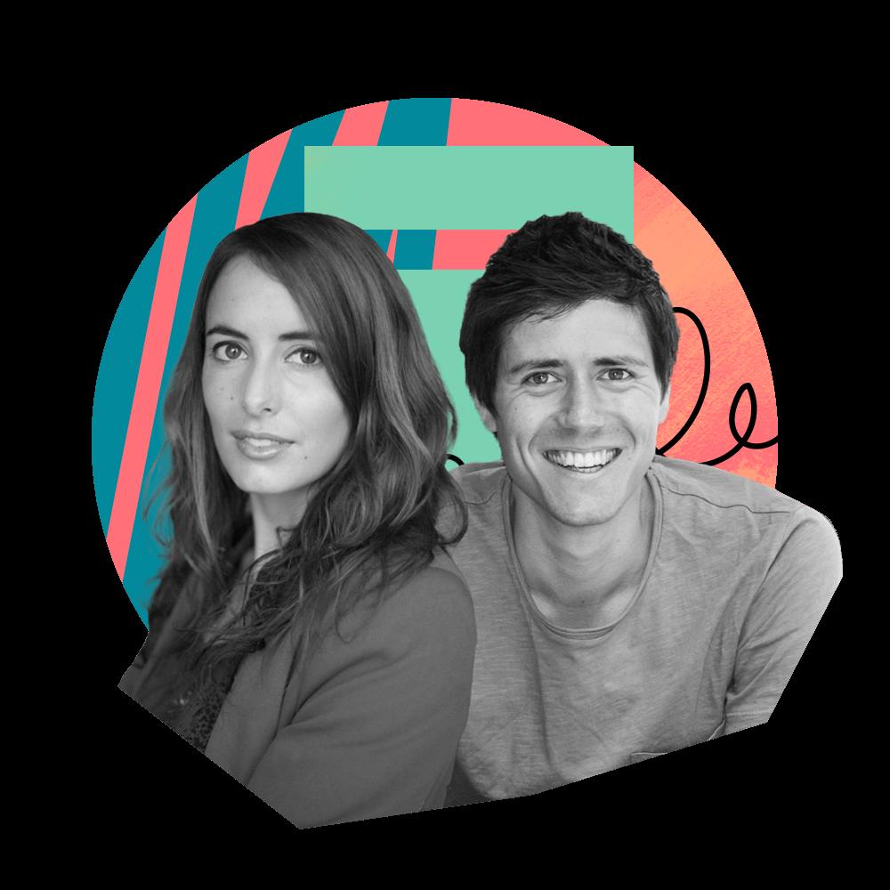 Julie Chapon et François Martin