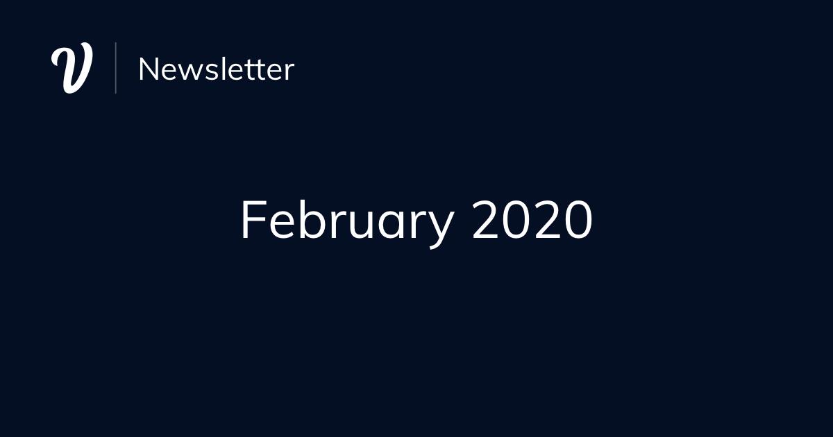 February Newsletter (2020)