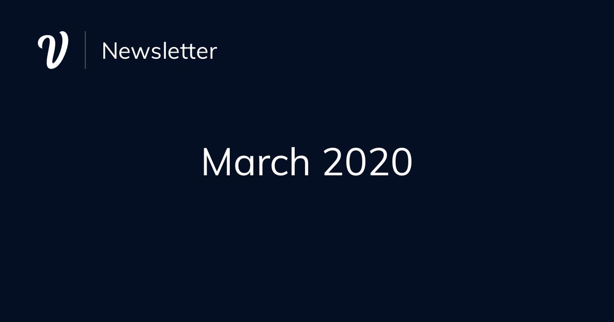 March Newsletter (2020)