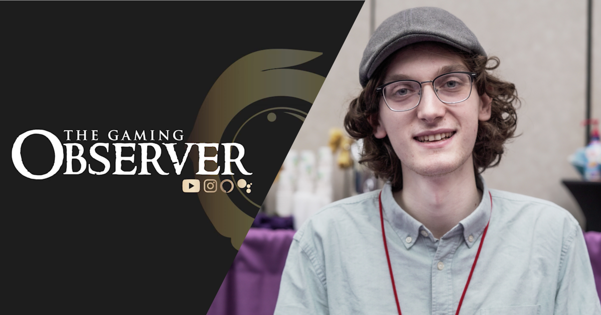Adrian Simple on creating, hosting 'The Gaming Observer'