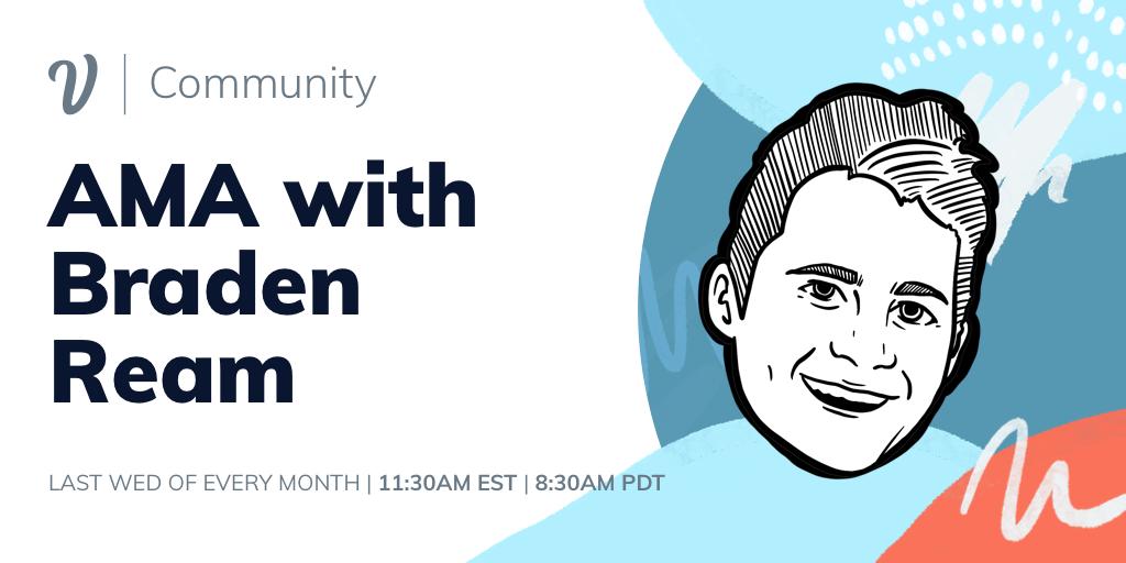 Voiceflow Community AMA with Braden Ream