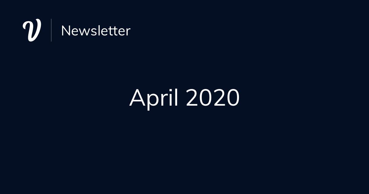 April Newsletter (2020)