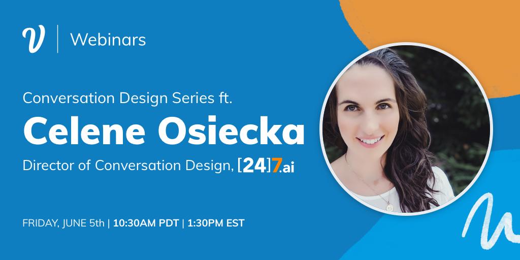 Conversation Design Series: Celene Osiecka