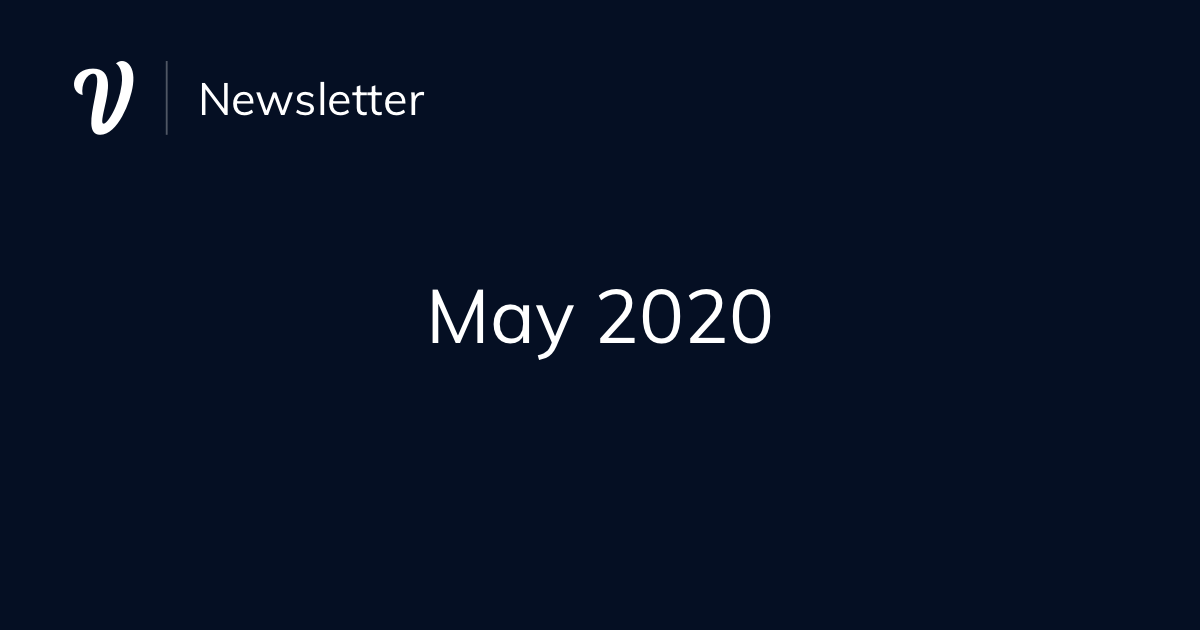 May Newsletter (2020)