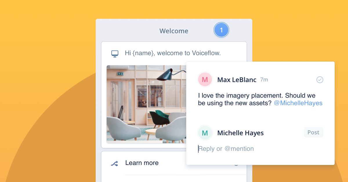 Feedback made easy with Voiceflow's new commenting system