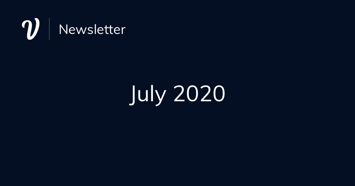 July Newsletter (2020)