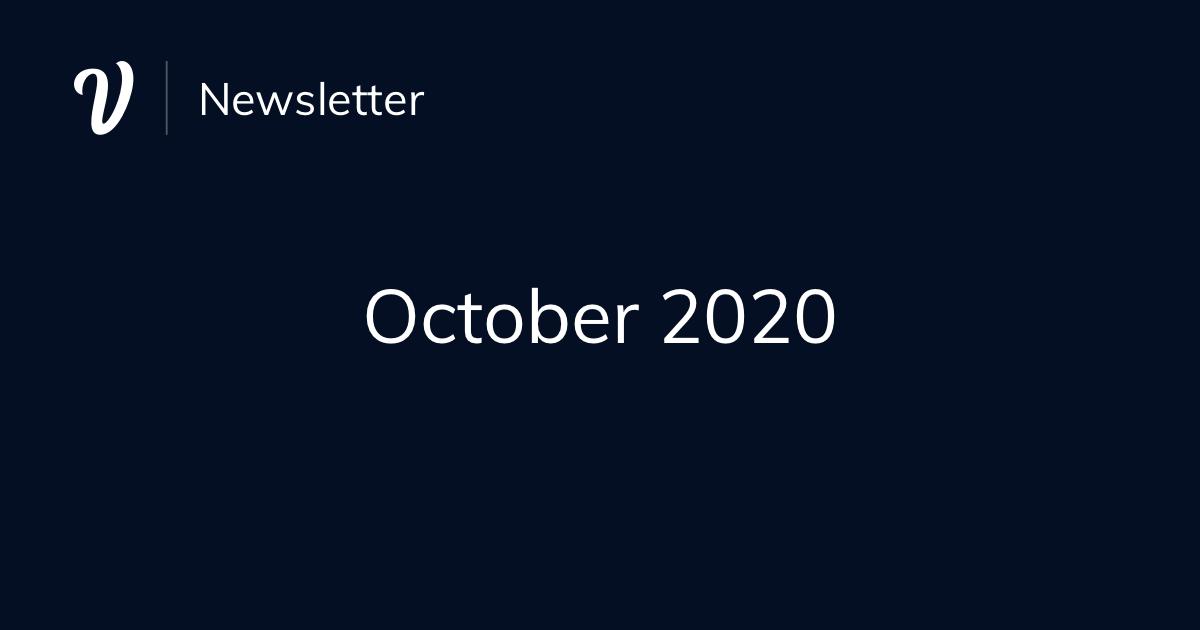 October Newsletter (2020)