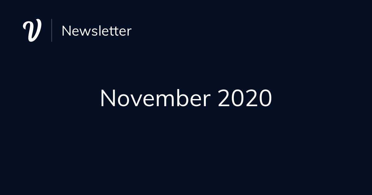 November Newsletter (2020)
