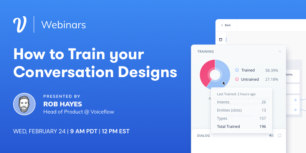 How to Train Your Conversation Design
