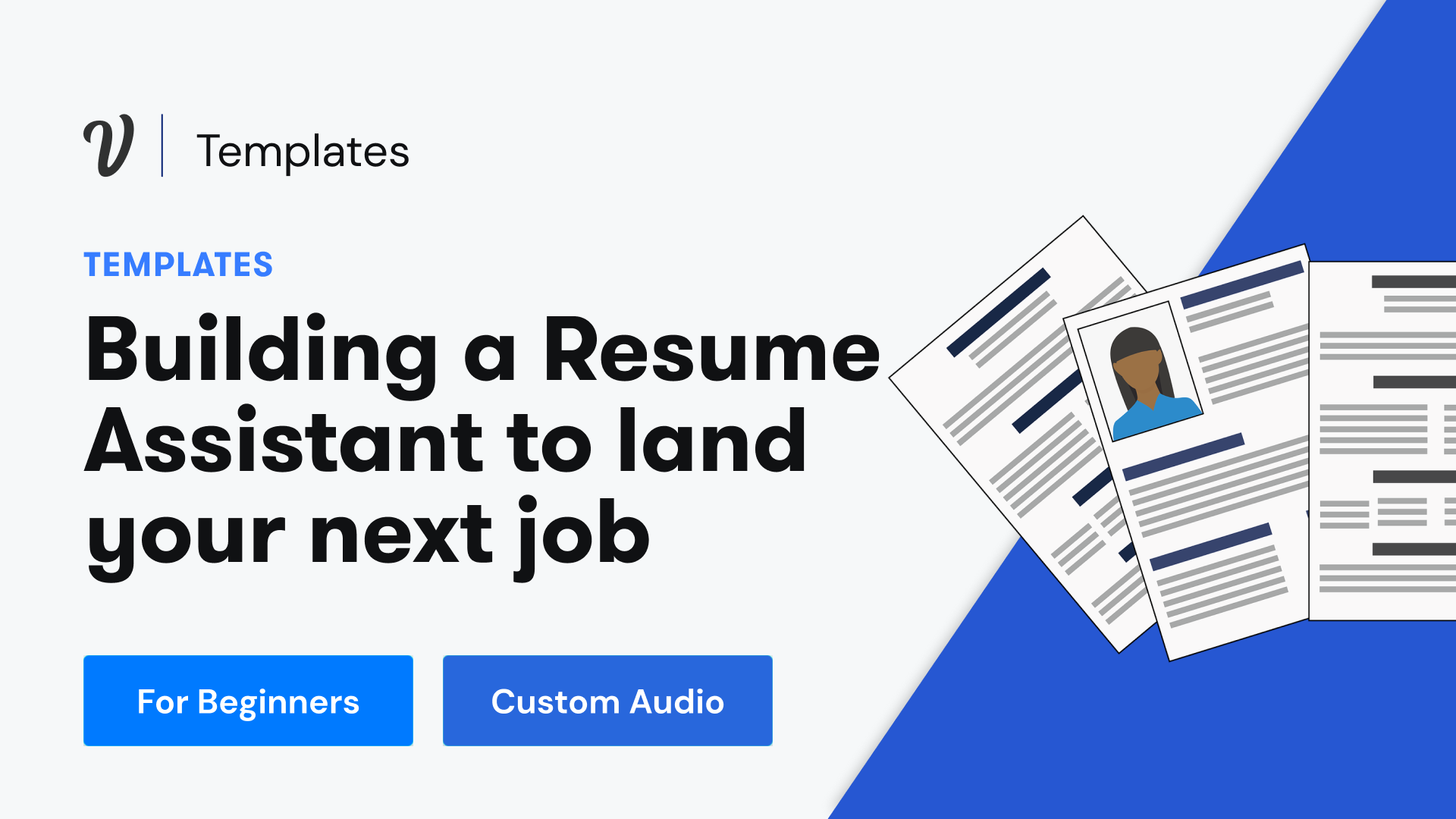 How to build your own resume assistant