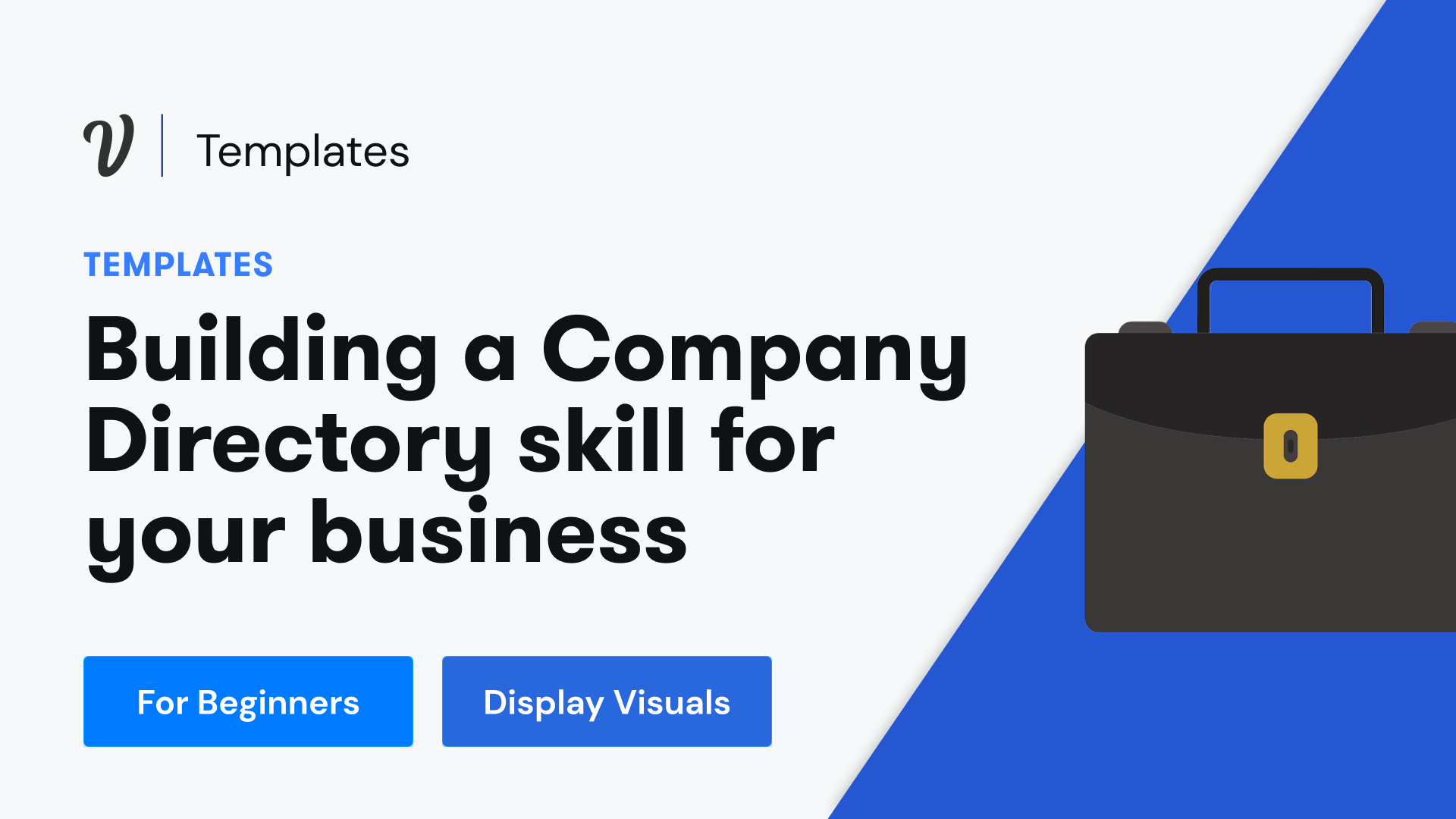 How to build a company directory for your business