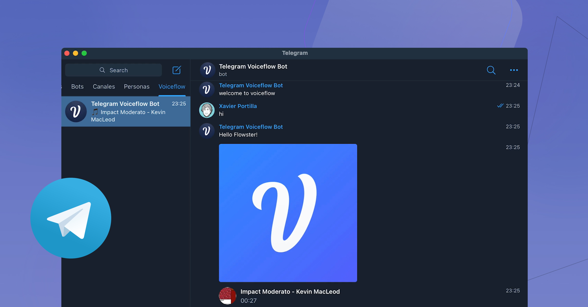 How to create a simple Telegram bot with Voiceflow