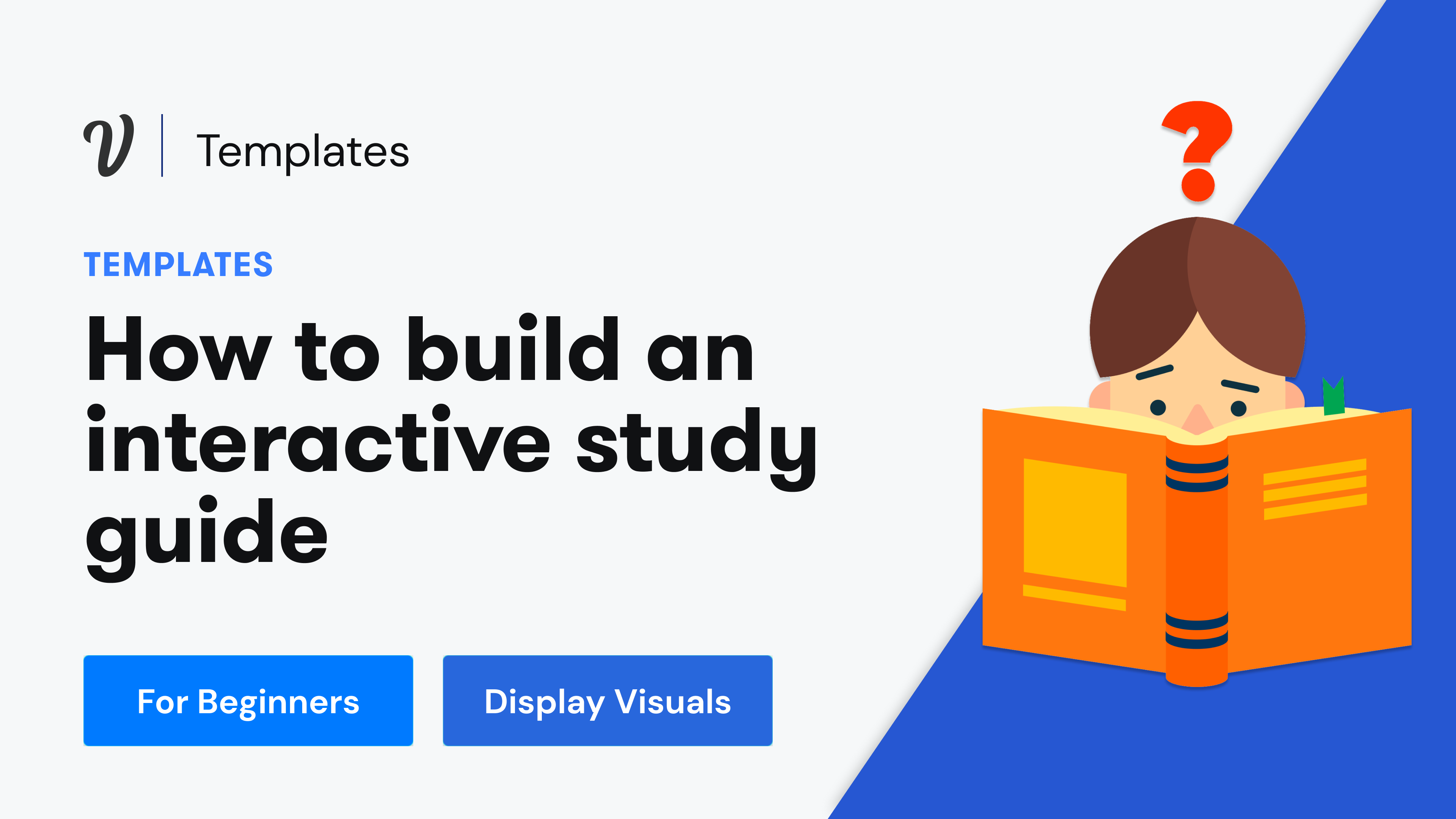 How to build an interactive study guide