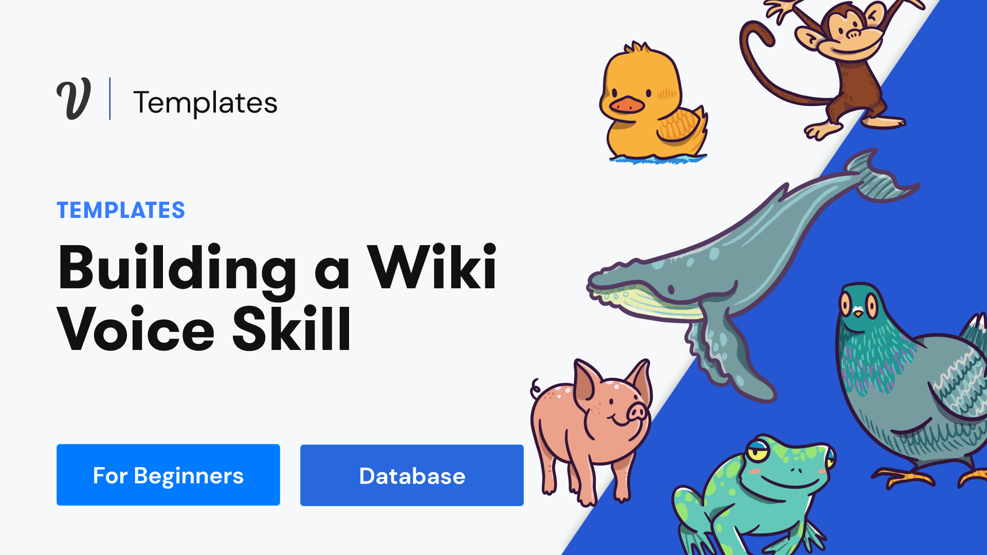 How to build an interactive quiz & wiki experience